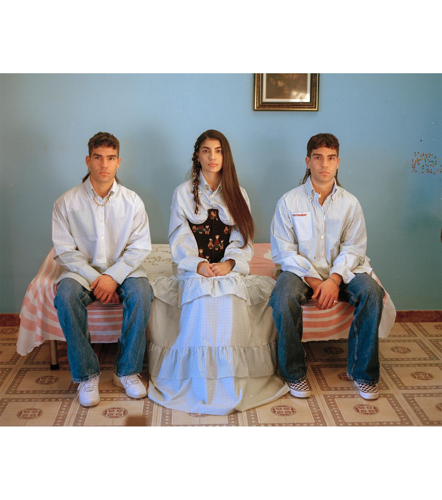 carmine romano family personaggi volti portrait bambini
